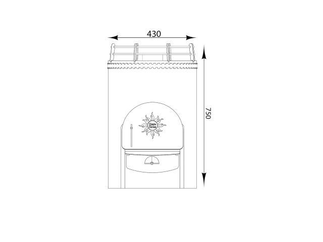 Печь для бани «Вольга 1»